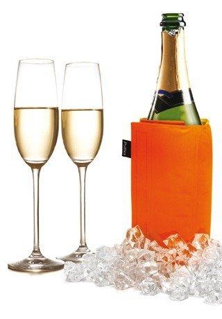 Pulltex Kühlmanschette Wein und Sekt, orange/gelb