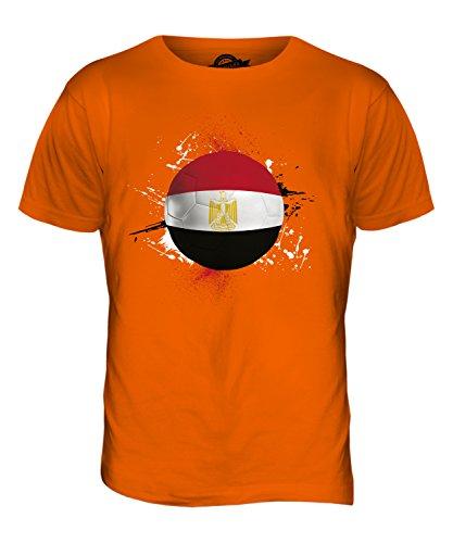 CandyMix Ägypten Fußball Herren T Shirt Orange