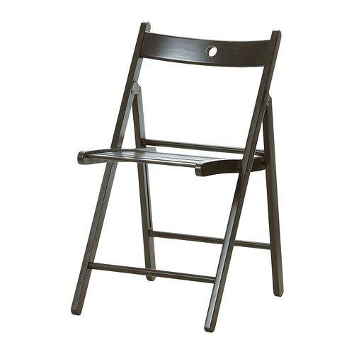 IKEA TERJE -Klappstuhl schwarz