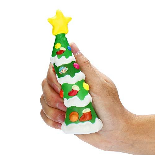 (TianranRT Squishies Kawaii Weihnachten Baum Langsam Steigen Sahne Duftstoff Stress Erleichterung Spielzeug)