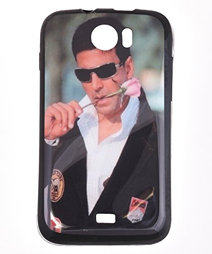 iCandy Matte Finish Soft Rubber Printed Back Cover for Micromax Canvas 2 A110 - Akshay  available at amazon for Rs.99