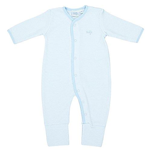 FEETJE Frühchen-Overall Baby Strampler, Größe 68, blau
