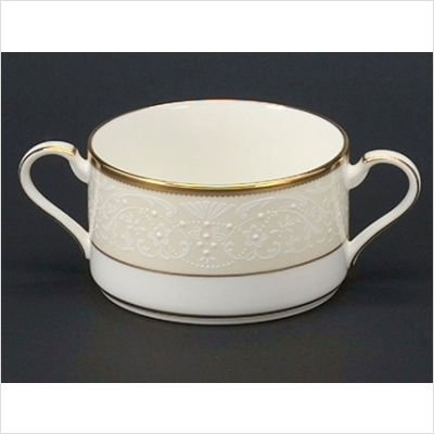 Noritake White Palace Cream Soup Cup by Noritake Cream Soup Cup