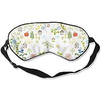 Eye Mask Eyeshade House Drawing Sleeping Mask Blindfold Eyepatch Adjustable Head Strap preisvergleich bei billige-tabletten.eu