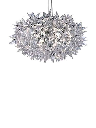 Kartell Bloom Lámpara G9, Transparente, 29 x 19 x 29 cm