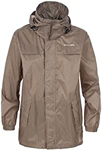 Trespass Men's Packa Waterproof Jacket - Praline, 3X-Large