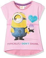 Universal Girl's 15-2216 TC T-Shirt, Pink (Fushia), 6 years (Manufacturer size: 116 cm)