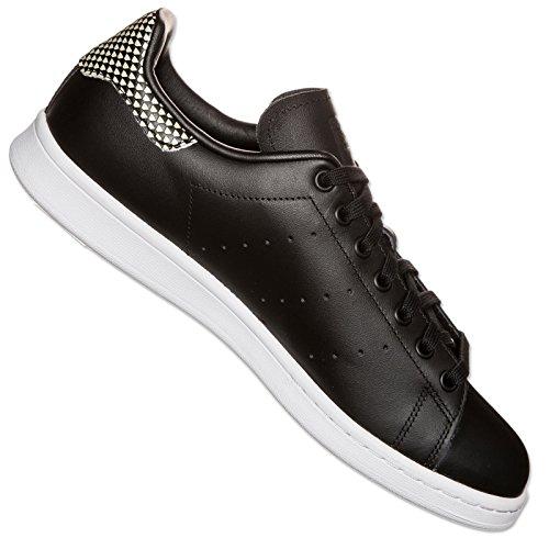 Adidas Stan Smith Black Black White 44