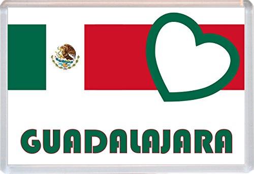 Guadalajara - Love Mexico/Mexican Towns & Cities - Jumbo Fridge Magnet - Brand New Gift/Present/Souvenir