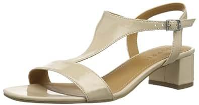 Esprit Doris Sandal, Chaussures de ville femme - Beige (257 Clay Beige), 38 EU
