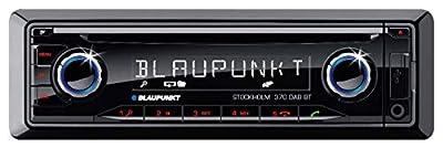caraudio24 Blaupunkt Stockholm 370 DAB BT CD DAB Bluetooth MP3 USB Autoradio für VW Up (AA, AAN, 2011-2016)