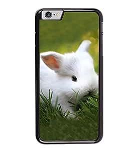 PrintVisa Lovely Rabbit High Gloss Designer Back Case Cover for Apple iPhone 6s Plus :: Apple iPhone 6s+