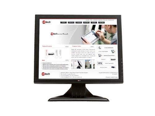 Faytech FT15TMB 38,2 cm (15 zoll)  LCD-Monitor (VGA, USB, Serial, 2ms Reaktionszeit) in schwarz