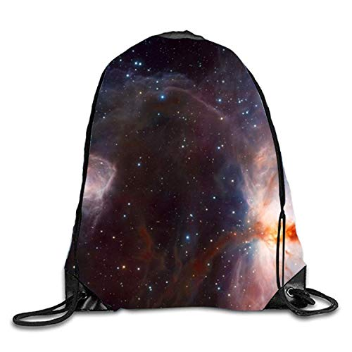 OQUYCZ Orion Nebula Print Drawstring Backpack Rucksack Shoulder Bags