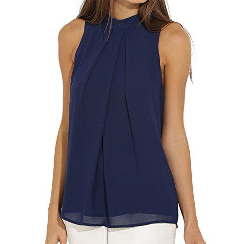 ropalia-women-chiffon-sleeveless-tank-top-summer-loose-vest-shirt-blouse-uk14-eu40-tagxxl-dark-blue
