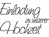 KnorrPrandell 1800002 - Stempel - Einladung zu unserer Hochzeit, 6.5 x 4.1 cm