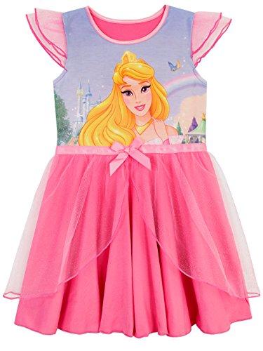 Disney Mädchen Dornröschen Nachthemden Rosa 116