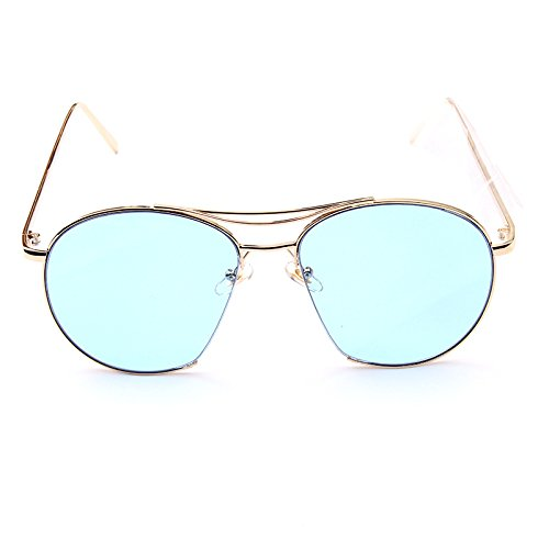 metallo-moda-retro-moda-occhiali-da-sole-polarizzati-blue