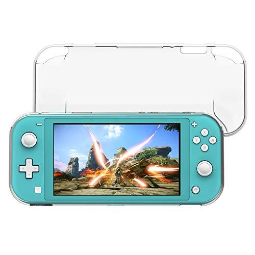 FASTSNAIL Schutzhülle für Nintendo Switch Lite, TPU Klar Hülle Schutzhülle für N-Switch Lite Konsole