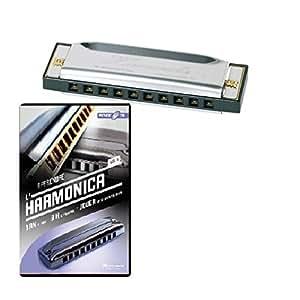 "kit HARMONICA 10 TROUS + DVD ""Apprendre l'harmonica"""