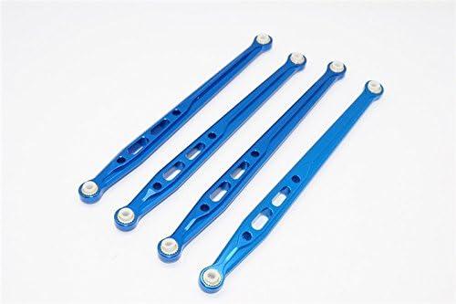 Axial SCX10 Upgrade Pièces Pièces Pièces Aluminium Rear Chassis Links Parts Tree - 4Pcs Set Blue | Léger  cc21bf