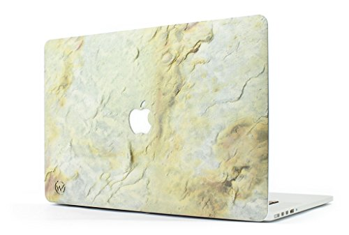 woodstache – Cover aus Stein MacBook Golden