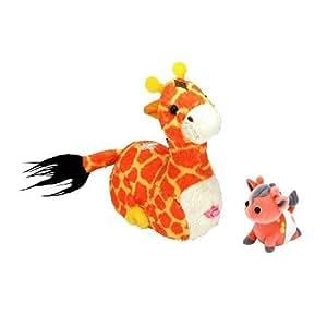 Zhu-Zhu Pets Zhu-Fari: Pet & Baby - Zulu the Giraffe
