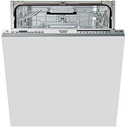Hotpoint ELTF 11M121 CL EU Entièrement intégré 14places A++ lave-vaisselle - Lave-vaisselles (Entièrement intégré, Acier inoxydable, boutons, 14 places, 41 dB, Auto, Intensif, Normal, Rapide)