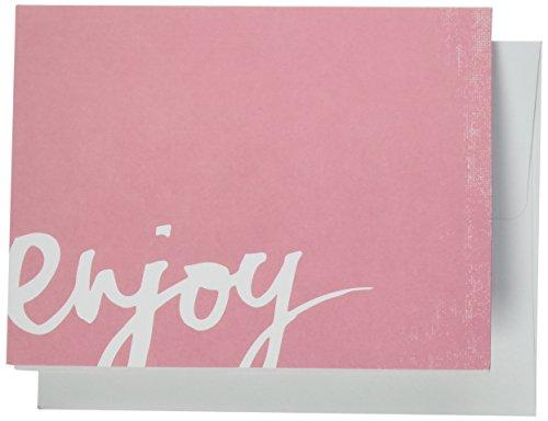Pink Punch Brads (American Crafts 10,8cm x 14A2Karten und Umschläge 40pro Paket, Heidi Swapp 10268595Schablone zum)