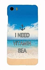 Back Cover for Xiaomi Mi5 I NEED VITAMIN SEA
