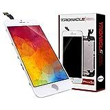 Tronicle iPhone 5s Weiß Vormontiert Ersatzdisplay Komplettset Montagewerkzeug LCD Ersatz Touchscreen Glas Reparatur