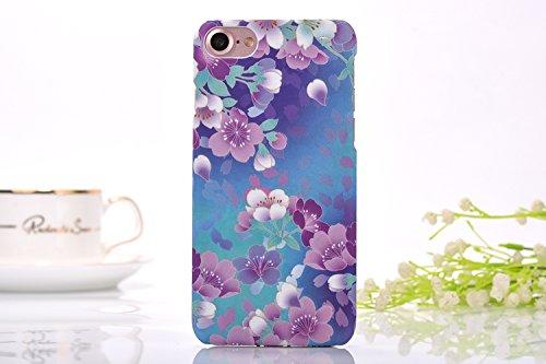 iphone7 Plus Schutzhülle Smartphone Case einzigartige Design Back Cover Tasche (Blumen 1)