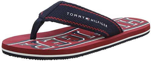Tommy Hilfiger F2285loyd 13d, Men's thongs, Blue (Midnight), 8 UK (42 EU)