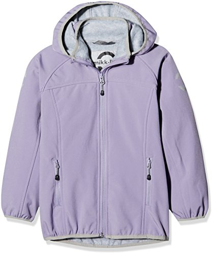 mikk-line Mädchen Jacke Softshelljacke (Wassersäule 8000), Violett (Day Break Purple 709), 116