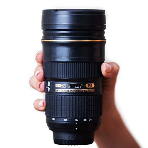 I AM MUG Nikon 24-70mm Kameraobjektiv-Kaffeetasse | Kaffeebecher to go | 350 ml Kaffeebecher | Geschenk für Fotografen | Tolles Geschenk unter 30 Euro