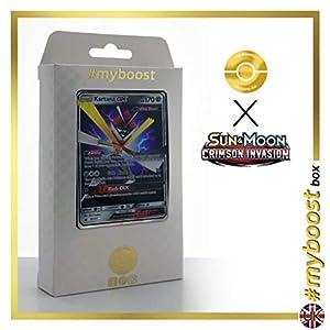 Kartana-GX 70/111 - #myboost X Sun & Moon 4 Crimson Invasion - Box de 10 cartas Pokémon Inglesas