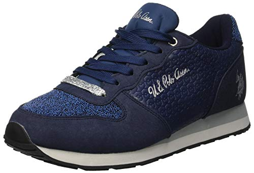 U.S.POLO ASSN. Damen Vanity Club Sneaker, Blau BLU, 39 EU