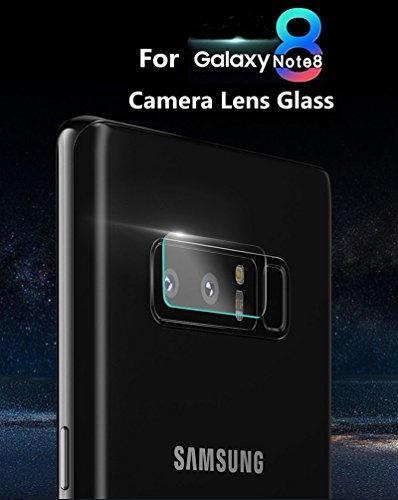 Dy Camera Back Lens Protector Tempered Glass Screen Protector for Samsung Galaxy Note 8
