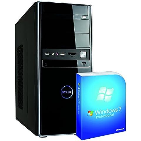 Memory PC 55700 3.2GHz i5-6500 Midi Torre Negro PC - Ordenador de sobremesa (i5-6500, Midi Torre, 64 bits, SSD, Intel Core i5-6xxx, DVD Super