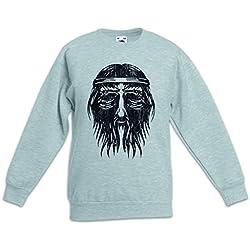 Nordic Barbarian Face Sudadera Suéter para Niños Niñas Pullover