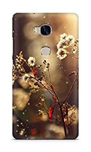 Amez designer printed 3d premium high quality back case cover for Huawei Honor 5X (daisy )