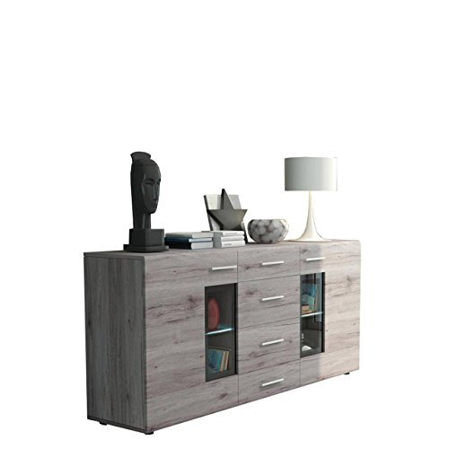 Mirjan24  Kommode Twist Anrichte Highboard Sideboard