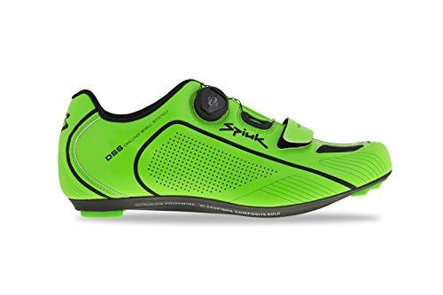 SPIUK altube Road Chaussure Unisexe Adulte Vert/noir