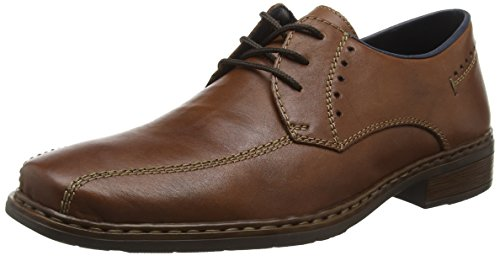 Rieker 10802, Derby Homme Marron (Whisky/26)