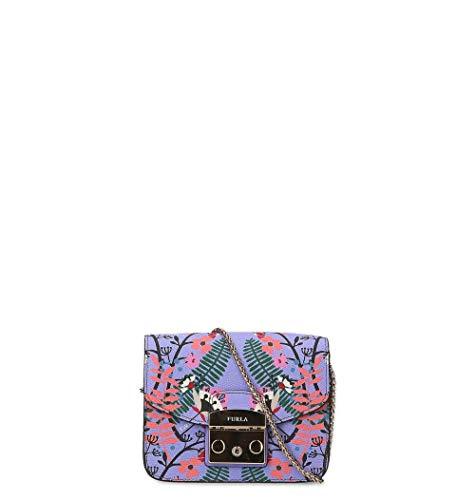 FURLA Luxury Fashion Donna 941751 Multicolor Borsa A Spalla | Stagione Permanente