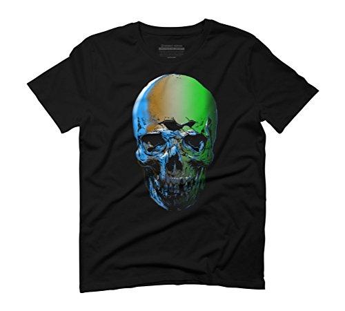 undead Men's Graphic T-Shirt - Design By Humans Black