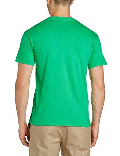 Football Fan Herren, Regular Fit, T-Shirt, World Cup Football 2014 Mexico Arched Mens T-Shirt Grün