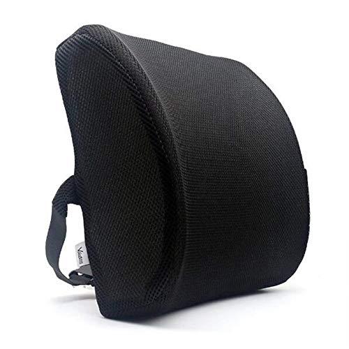 Komfort Lumbar Unterstützung Kissen, 100% Pure Memory Foam Zurück Kissen, Unteren Rücken Unterstützung Pad, Orthopedic Für Rücken Schmerzlinderung, Für Ihr Zuhause, Bürostuhl -