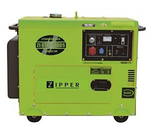 ZIPPER Stromerzeuger ZI-STE7500DS mit 2 Steckdosen (1 x 230 V/1 x 400 V)
