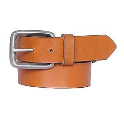 JUSTANNED Mens Belt (JTMBL065-3-30_Tan_30)